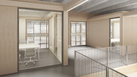 Bluefactory Fribourg Interieur Hosoya Schaefer Architects