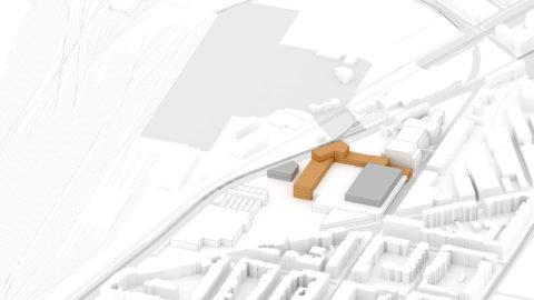 Hosoya Schaefer Architects Nordspitze Basel Migros Genossenschaft Phase 1